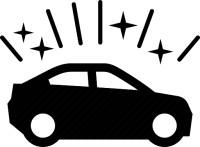 glimmende-auto
